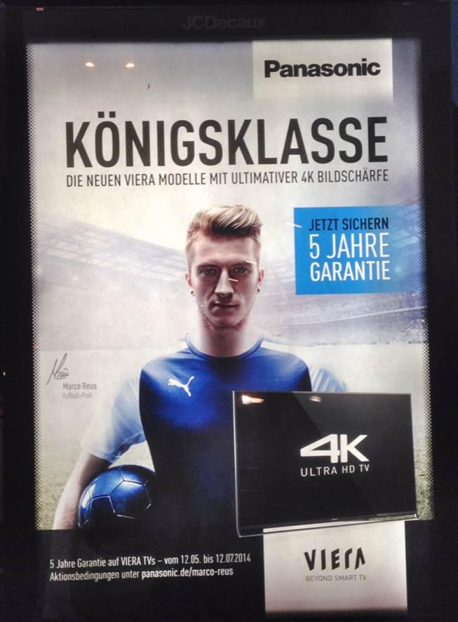 Werbestar Marco Reus spielt bei der WM 2014 verletzungsbedingt gar nicht mit.